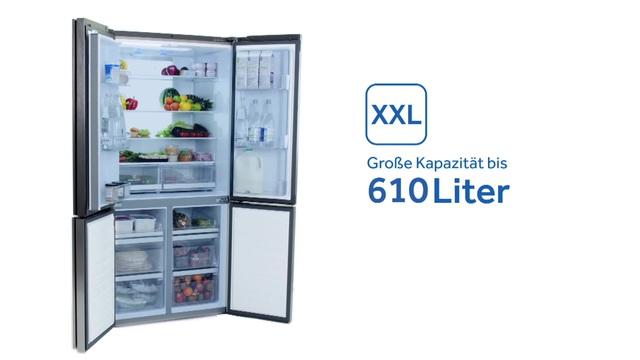 Haier French Door Kühlschrank CUBE HTF-610DM7, 190 cm hoch, 90,8 cm breit  online kaufen | OTTO