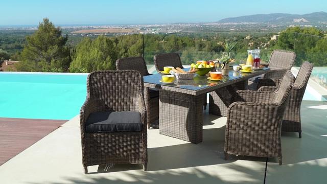 gartenm bel set mit eckbank. Black Bedroom Furniture Sets. Home Design Ideas
