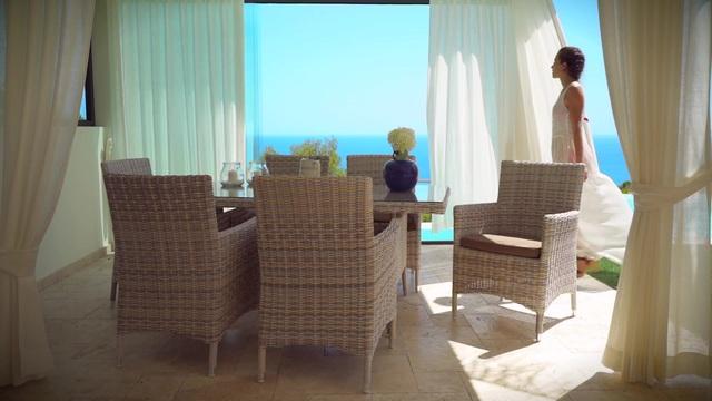 Gartenmöbelset »Bali«, 2 Sessel, 1 Tisch Ø 60 Cm, Polyrattan, Wollweiß  Online Kaufen | OTTO