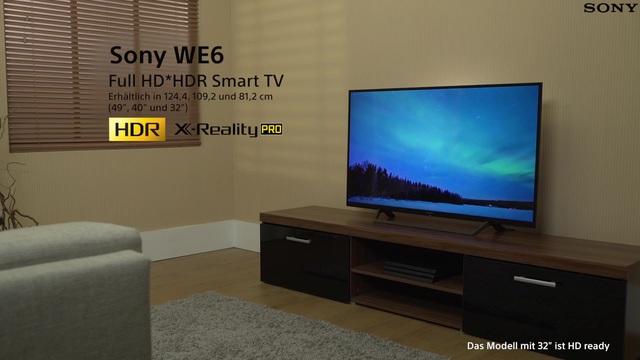 Sony Kdl 32we615 Led Fernseher 80 Cm32 Zoll Smart Tv Online