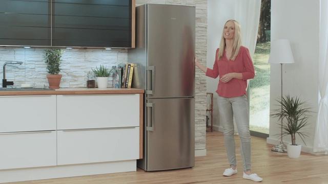Aeg Kühlschrank Gefriert : Aeg kühl gefrierkombination s53430cnw2 a 184 5 cm hoch