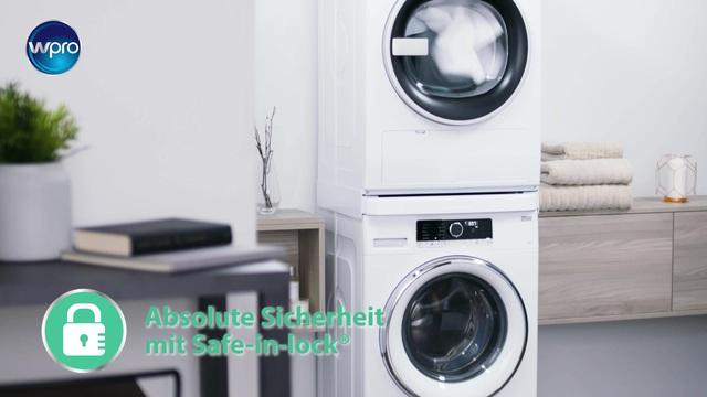 Wpro verbindungsrahmen für waschmaschine trockner alle marken