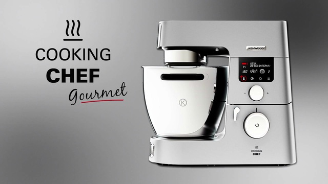 KENWOOD Küchenmaschine mit Kochfunktion Cooking Chef Gourmet KCC9061S mit  digitaler Küchenwaage, 1500 W, 6,7 l Schüssel, inkl. Zubehör im Wert von  UVP ...