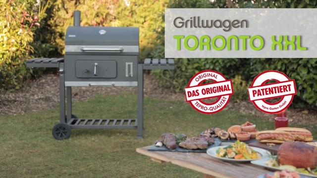 Tepro Xxl Holzkohlegrill Toronto : Tepro grillwagen toronto xxl« online kaufen otto