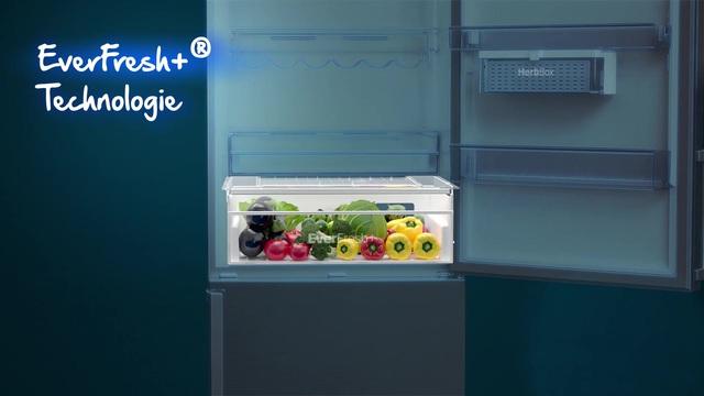 Siemens Kühlschrank 70 Cm Breit : Beko kühl gefrierkombination rcne520e40zx 192 cm hoch 70 4 cm
