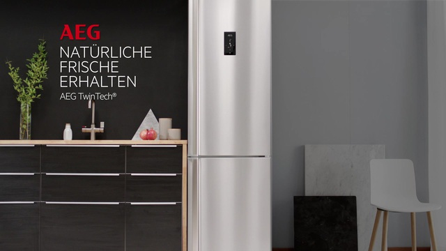 Aeg Kühlschrank Inbetriebnahme : Aeg kühl gefrierkombination rcb nx cm hoch cm