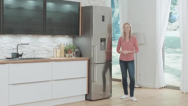 Kühlschrank Gefrierkombination : Samsung kühl gefrierkombination rb j cm hoch cm