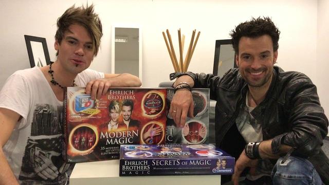 Ehrlich Brothers Zauberkasten Street Magic Clementoni