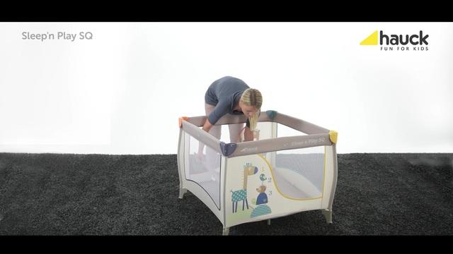 Hauck fun for kids laufstall mit tragetasche sleep n play sq