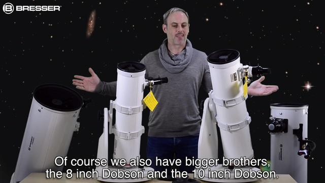 Refraktor teleskop bresser kalaydo