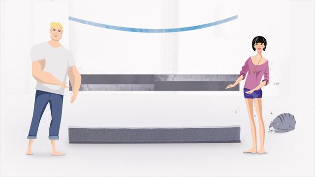 Komfortschaummatratze One Fits All Matratze Paul Paula 25 Cm Hoch Raumgewicht 35 1 Tlg Flexibel Universell Und Bequem Online Kaufen