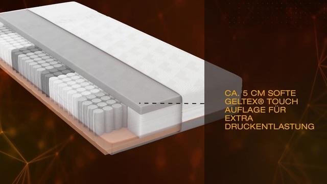 Gelschaummatratze Geltex Quantum Touch 240 Tfk Schlaraffia 24 Cm Hoch Raumgewicht 45 420 Federn Online Kaufen Otto