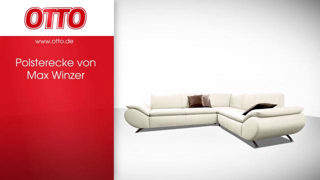 Max Winzer® Polsterecke »Marbella«, gleichschenklig online kaufen | OTTO