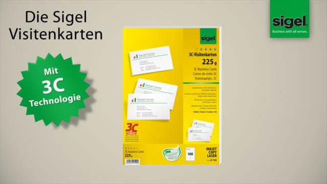 Sigel Visitenkarten Lp795 Beidseitig Bedruckbar Nein Online Kaufen Otto