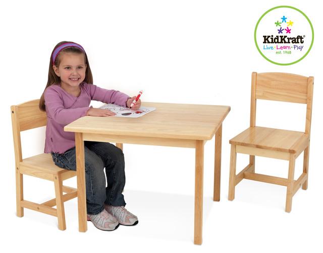 Kidkraft Kindermöbel Tisch Mit 2 Stühlen Aspen Otto