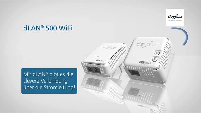 devolo dlan 500 wifi verbinden