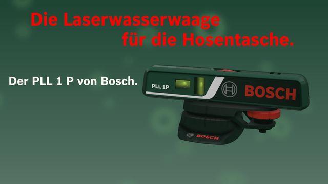 Bosch Laser Entfernungsmesser Mit Wasserwaage : Bosch laser wasserwaage pll p« online kaufen otto