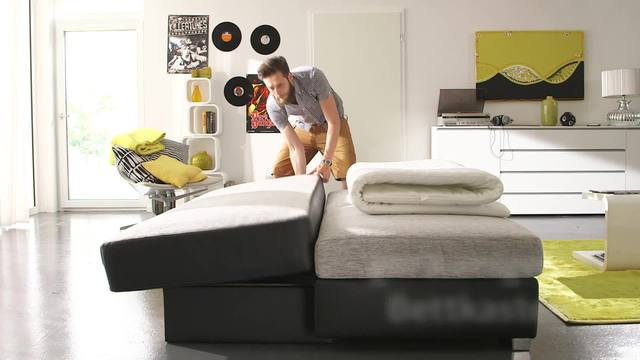 schlafsofa boxspring m belideen. Black Bedroom Furniture Sets. Home Design Ideas