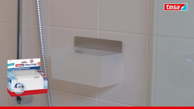 Tesa Badezimmerkorb/ Regal Eckig »Powerstrips Waterproof« Online Kaufen |  OTTO