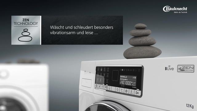 Bauknecht waschmaschine wm style 1234 zen cd 12 kg 1400 u min