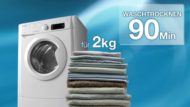 Indesit waschtrockner ewde kg kg u min online