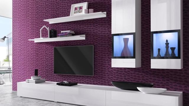 Wohnwand weiß hochglanz otto  Sideboard »Baros«, Breite 132 cm online kaufen | OTTO