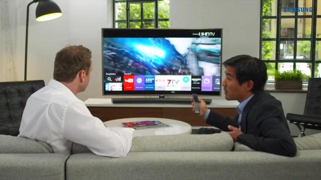 samsung fernseher gro fernseher diese gro bild tvs bringen riesen filmvergn gen bilder. Black Bedroom Furniture Sets. Home Design Ideas