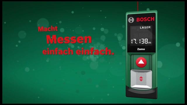Laser Entfernungsmesser Zamo : Bosch laser entfernungsmesser zamo generation arbeitsbereich