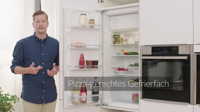 Mini Kühlschrank Mit Gefrierfach Otto : Bosch einbaukühlschrank kil v cm hoch cm