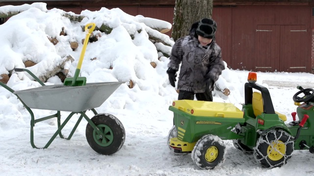 Rolly toys trac traktor ohne frontlader trettraktor mit