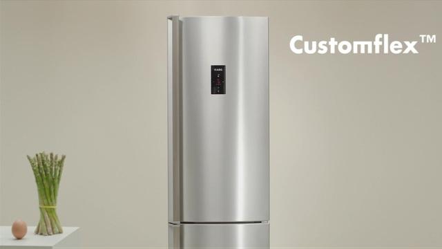 Aeg Customflex Kühlschrank : Aeg kühl gefrierkombination s cnxf cm hoch cm
