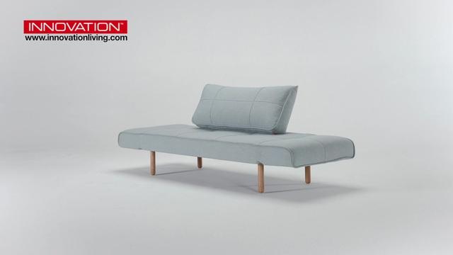 Innovation Schlafsofa Zeal Im Scandinavian Design Stem Beine Inklusive Ruckenkissen Online Kaufen Otto