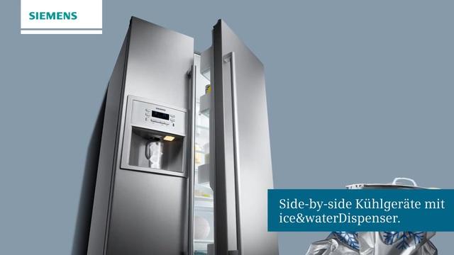 Siemens Kühlschrank Eiswürfelbereiter Bedienungsanleitung : Siemens side by side ka90dvi30 177 cm hoch 91 cm breit online