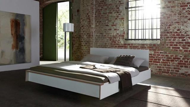 müller möbelwerkstätten® Bett »FLAI« wahlweise mit oder ohne ...
