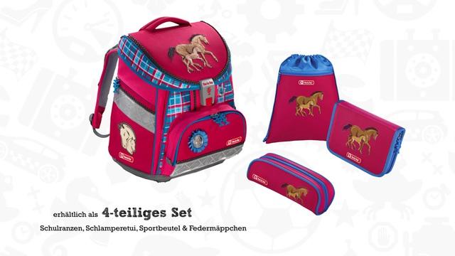 51eca2d17576a Step by Step Schulranzen Set Mädchen Tornister Set COMFORT DIN »Pferd Horse  Family« online kaufen