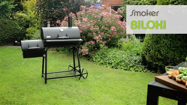 Tepro Toronto Holzkohlegrill Smoken : Sochef holzkohlegrill bbq holzkohle barbecue smoker grill