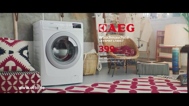 Aeg waschmaschine lavamat l as kg u min otto