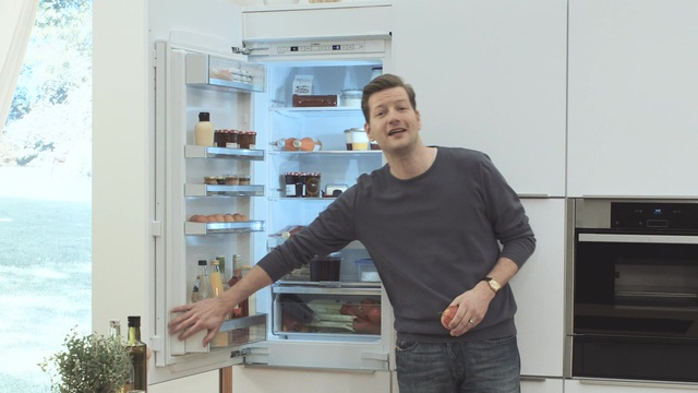 Bosch Kühlschrank Otto : Bosch vollintegrierbare einbau kühl gefrierkombination kis af