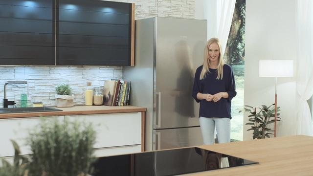 Bosch Kühlschrank Gefrierkombination : Bosch kühl gefrierkombination kge bi cm hoch cm breit